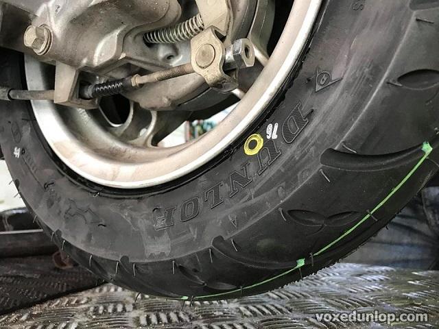 Dấu hiệu nào nên thay vỏ xe dunlop vỏ xe máy cho xế yêu của bạn - 2