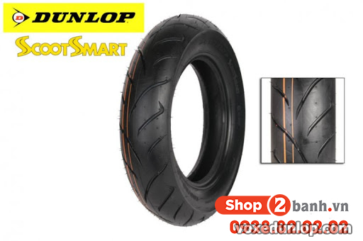 Vỏ dunlop 14070-14 scoot smart - 1