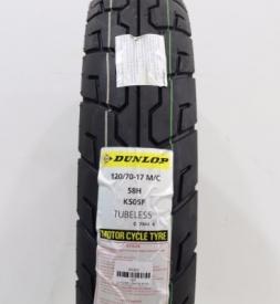 Vỏ Dunlop K505F 120/70-17 Winner, Exciter