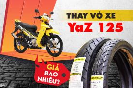 Thay vỏ xe YaZ 125 dùng loại nào tốt, giá vỏ Dunlop bao nhiêu hiện nay?