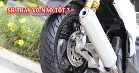 Thay vỏ SH 2021 bằng vỏ Dunlop D451 Slovenia có tốt không? Giá bao nhiêu?