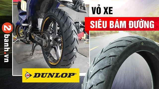 Tổng hợp vỏ Dunlop cho xe số tốt nhất hiện nay